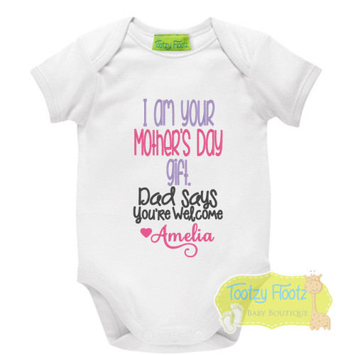 Mother's Day - I am your gift (Pink / Purple)