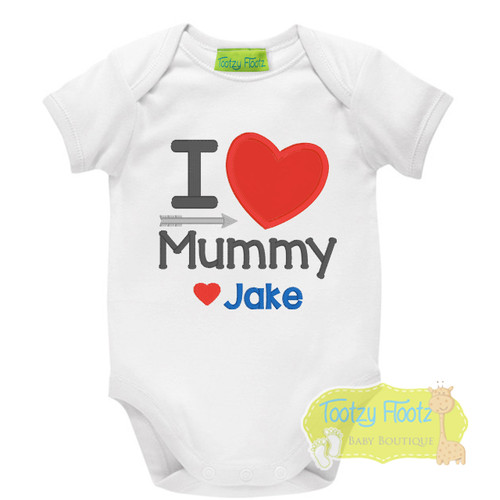 Mother's Day - I Heart Mummy (Red)