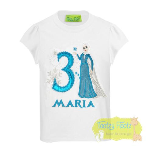 Frozen Inspired - Ice Queen Elsa Birthday