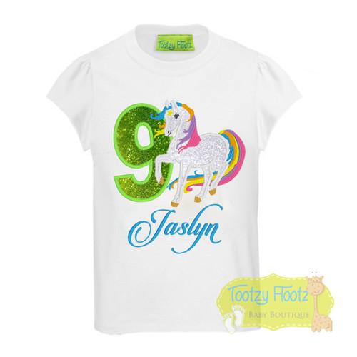 Horse / Rainbow Pony Themed Birthday