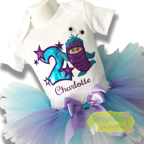 Monsters Inc - Boo in Disguise Inspired Birthday Set