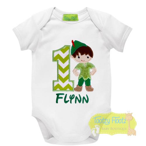 Peter Pan Inspired Birthday