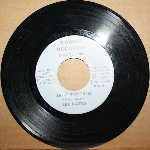 Lee Bates - Shake, Baby Shake