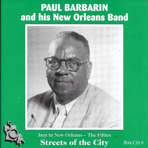 504 Records - Paul Barbarin - Streets Of The City
