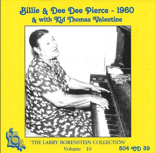 504 Records - Billie & Dee Dee Pierce With Kid Thomas Valentine - Borenstein Collection Vol 10