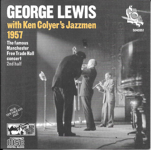 504 Records - George Lewis 1957 - Famous Manchester Free Trade Hall Concert Second Half