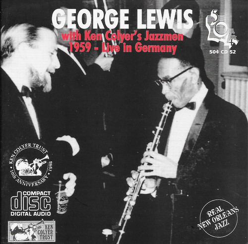 504 Records - George Lewis 1959 - Live In Germany