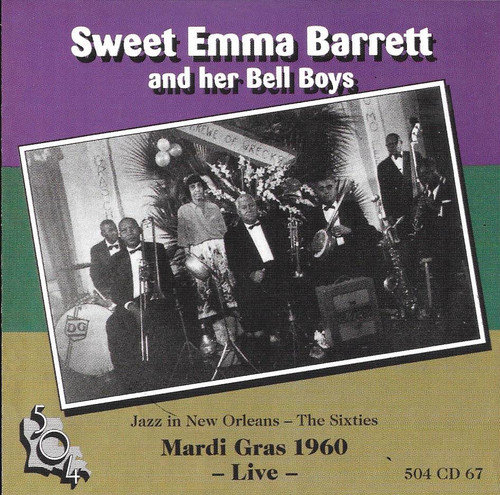 504 Records - Sweet Emma Barrett - Mardi Gras 1960 Live