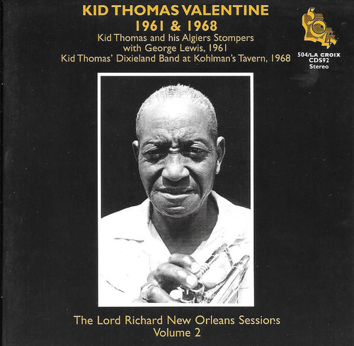 504 Records - Kid Thomas Valentine - Lord Richard Sessions Vol. 2