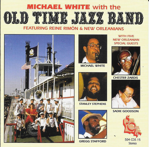 504 Records - Michael White - With The Old Time Jazz Band