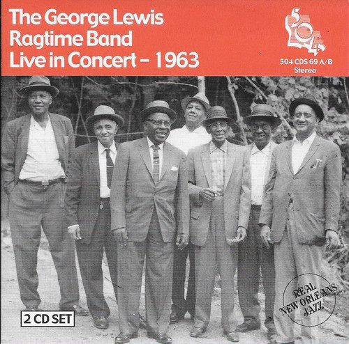 504 Records - George Lewis Ragtime Band - Live 1963
