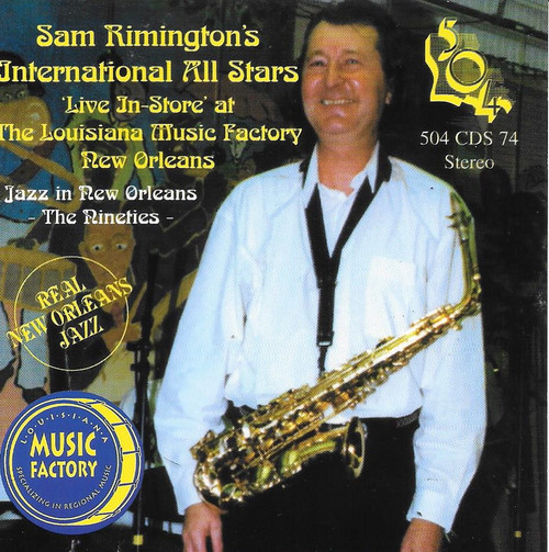504 Records - Sam Rimington International All Stars - Live At Louisiana Music Factory