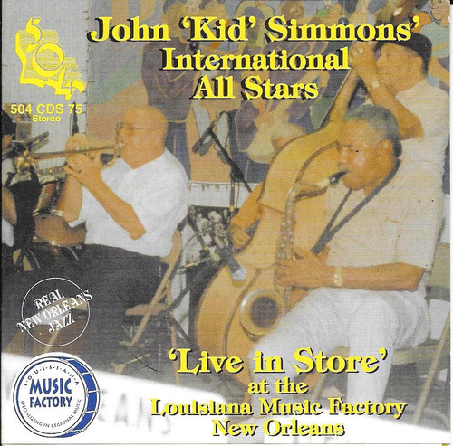 504 Records - Kid Simmons International All Stars - Live At Louisiana Music Factory