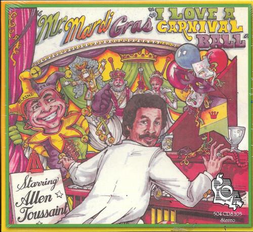 504 Records - Allen Toussaint - Mr Mardi Gras I Love A Carnival Ball