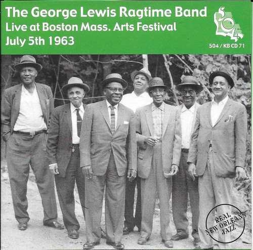 504 Records - George Lewis Ragtime Band - Live At Boston Arts Festival 1963