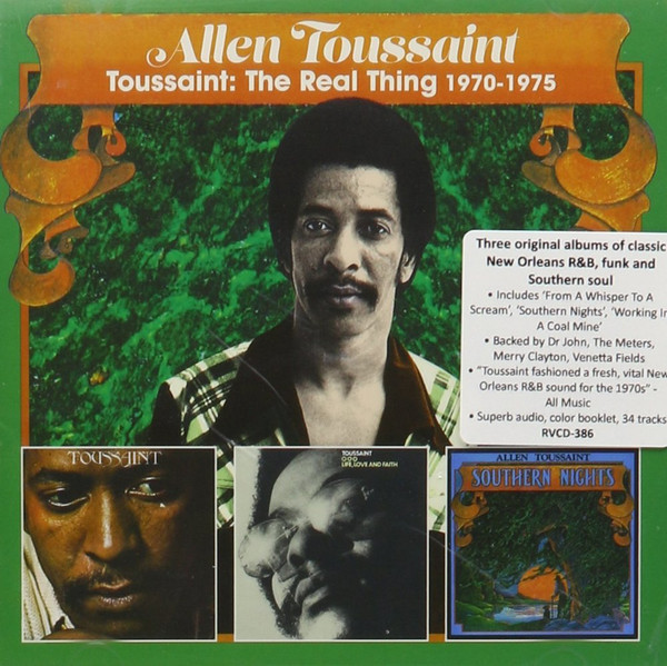 Allen Toussaint - The Real Thing 1970-1975