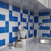 "Glass Subway Tile in Azure - 3"" x 6"" Piece (5 Sq. Ft.)"