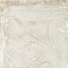 Giorbello Sassuolo Italian Tile in White Relief Design 3