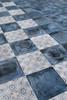 Giorbello Maranello Italian Tile Installed in Blue and Giulia