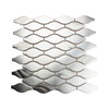 Atlantic Silver Teardrop Tile