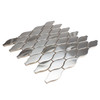 Side Angle View of Atlantic Silver Teardrop Tile