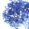 """Cobalt Blue 1/2"""" Tempered Fire Glass, Reflective, 20 lb."""