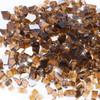 "Copper 1/2"" Tempered Fire Glass, Reflective, 20 lb."