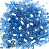 "1/2"" Tempered Fire Glass in Medium Blue"