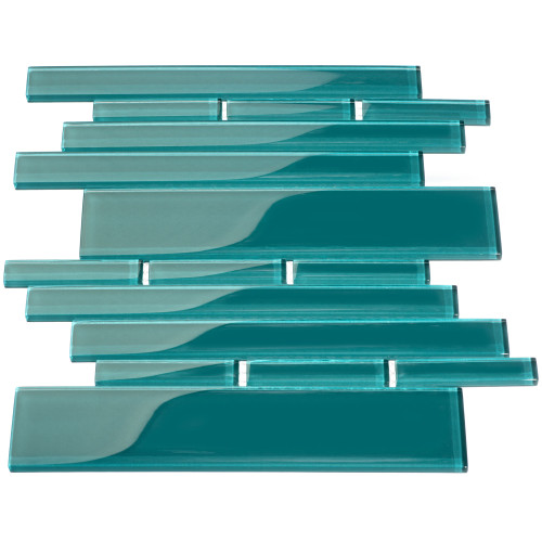 Club Collection Glass Tile, Dark Teal