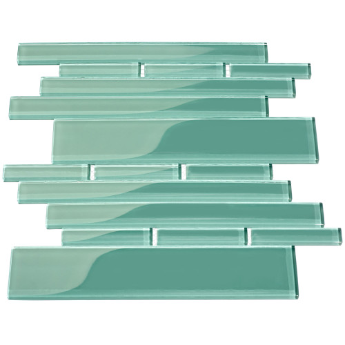 Club Collection Glass Tile, Teal