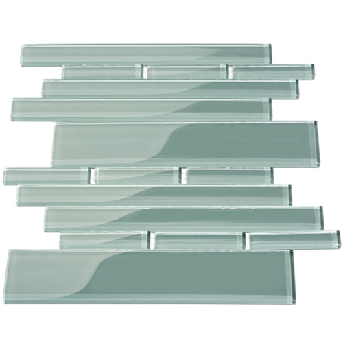 Club Collection Glass Tile, Slate