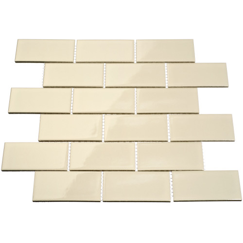 Giorbello Porcelain Subway Tile, Beige