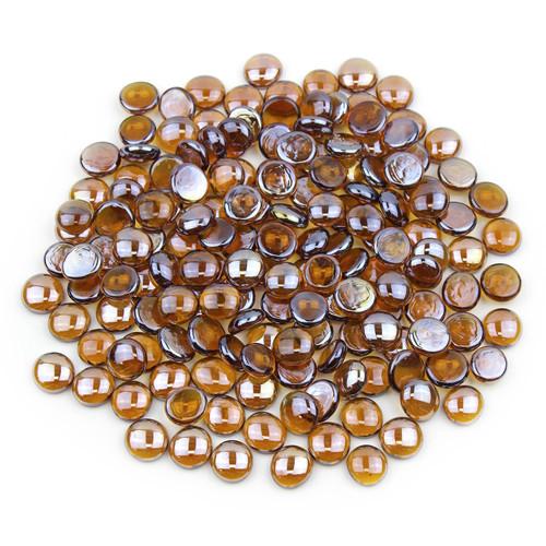 Glass Gems - Amber Luster