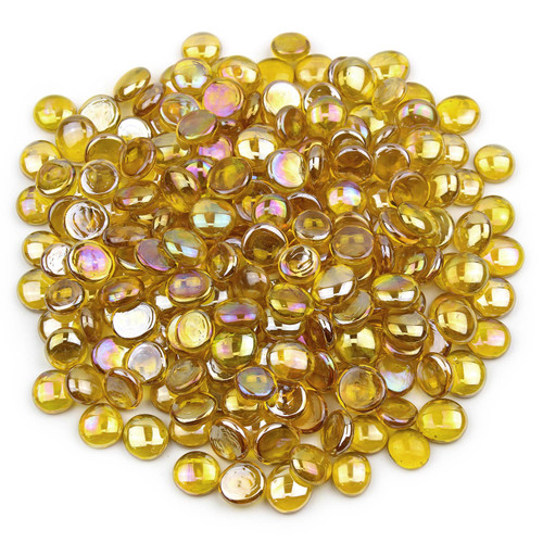 Glass Gems - Yellow Luster