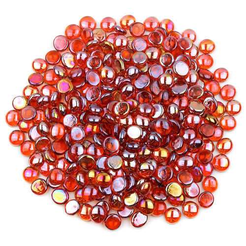 Glass Gems - Orange Luster