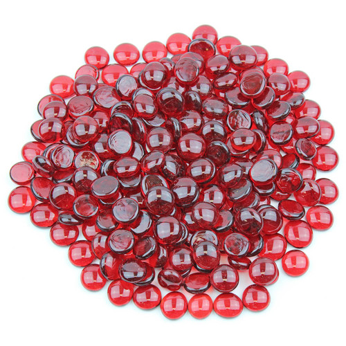 Glass Gems - Red