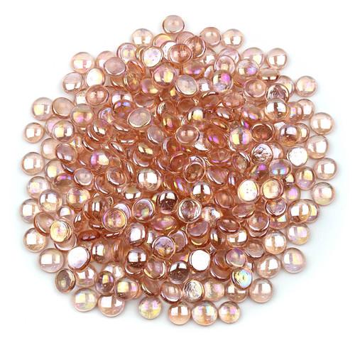 Glass Gems - Quartz Pink Luster
