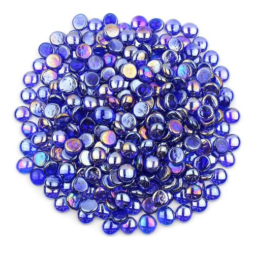 Glass Gems - Sapphire Blue Luster