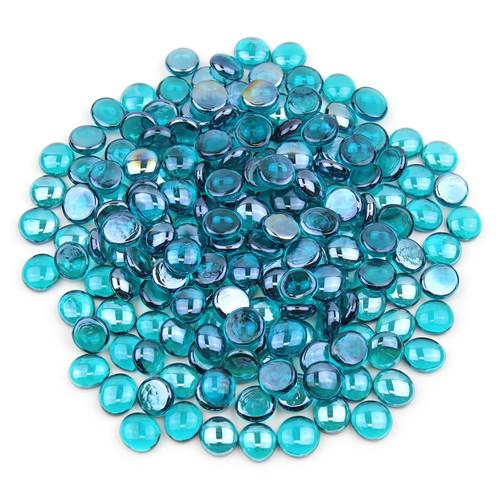Glass Gems - Teal Luster