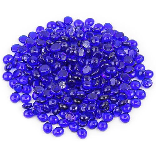Mini Glass Gems - Sapphire Blue
