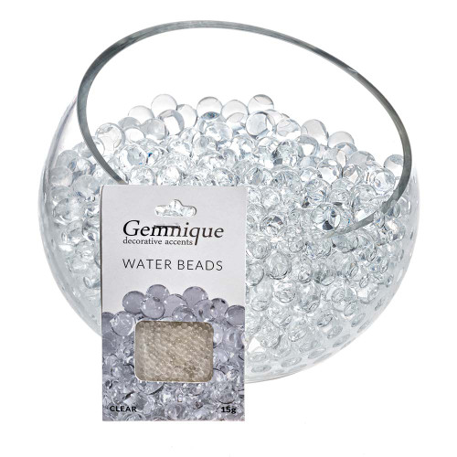 Clear Gemnique Water Beads
