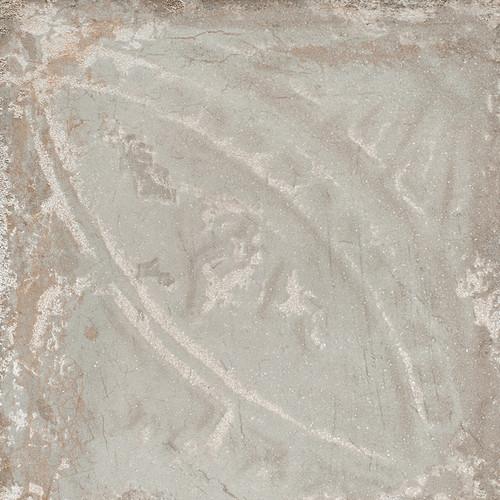 Giorbello Sassuolo Italian Tile in Marine Relief Design 1 Giorbello Sassuolo Italian Tile, 12 x 12, Grey Relief