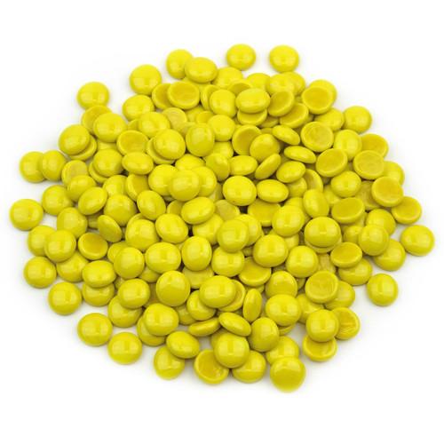 Glass Gems - Yellow Opaque