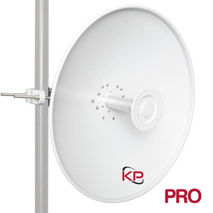 2-Foot 4.9-6.4GHz Dual Polarity Parabolic Dish Antenna  with 2x N-Female Connectors