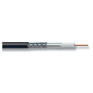 Laird Technologies RG58 Ultralink Black Cable - 500ft