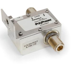 PolyPhaser VHF Combiner Arrestor  N/F to N/M