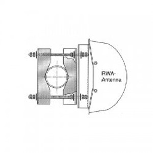 Amphenol Antenna Mtg. Bracket-Standard RWA/RWB