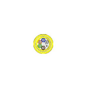 BELDEN FiberExpress Cable, Distribution OFCl322622P Aluminum Interlock, Jacketed 6 fibers, SM, enhanced FT