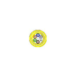 BELDEN FiberExpress Cable, Distribution OFCP Aluminum Interlock, Jacketed, 12 fibers, SM Enhanced FT