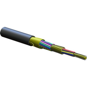 CORNING 24 fiber FREEDM One cable. Indoor/outdoor riser rated SMFe, .65/.50 dB/km. Print in ft. MOQ 100ft.